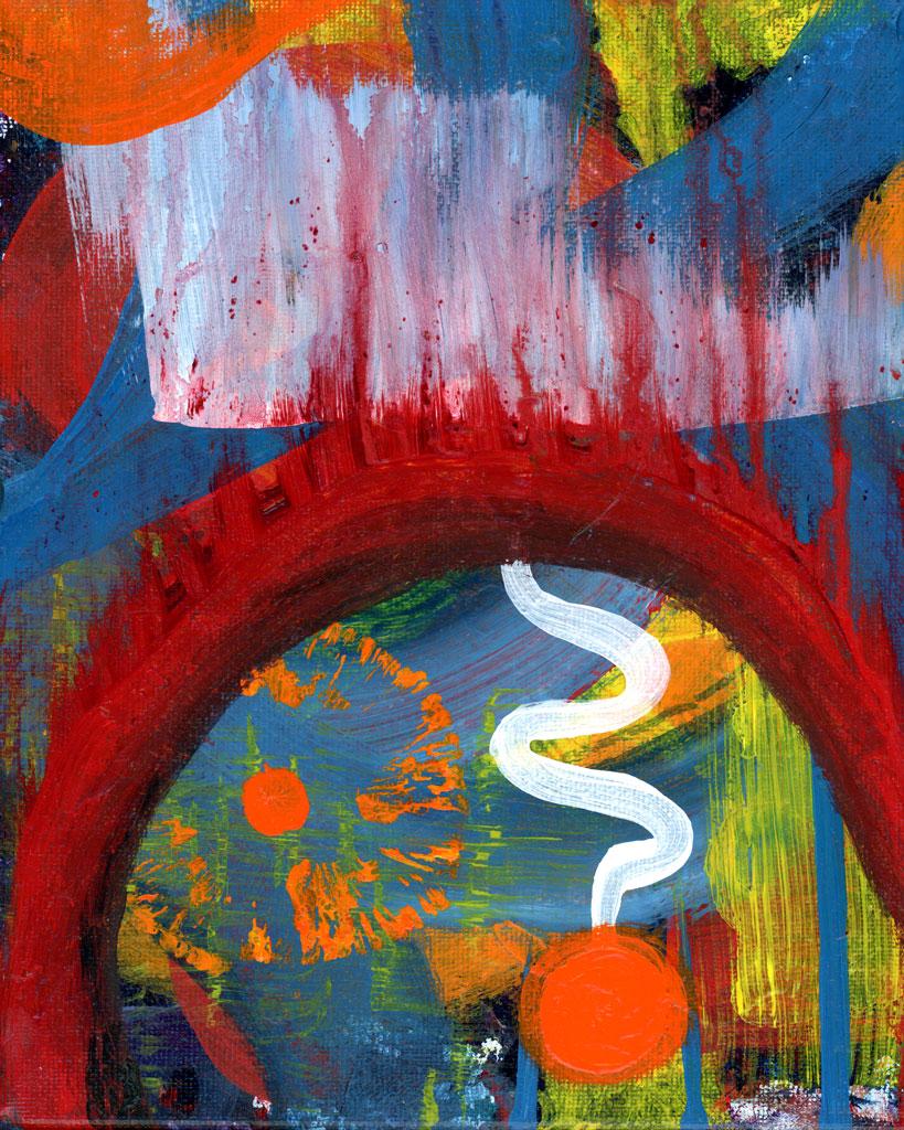 Inside painting by Kristy Lewellen