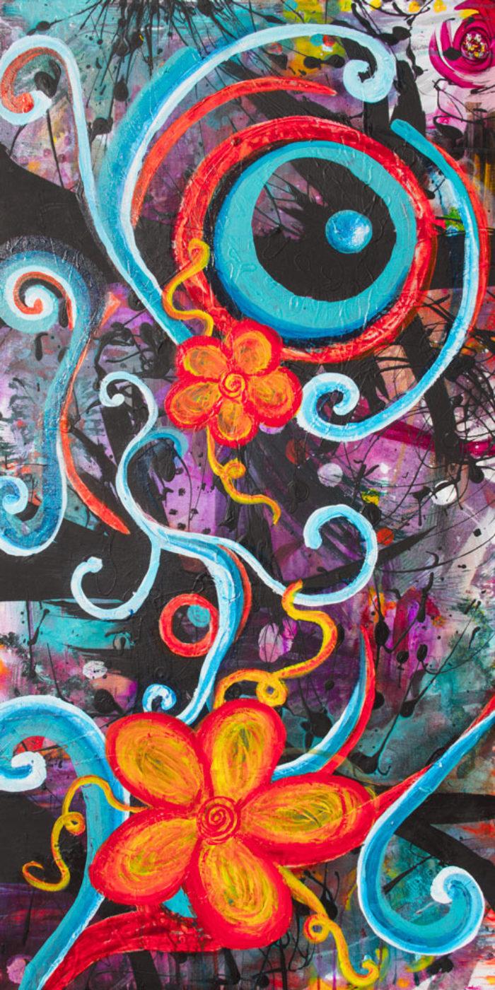 Journey painting by Kristy Lewellen