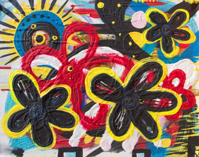 Summer painting by Kristy Lewellen