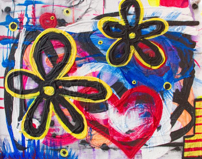 Painting Summer Love by Kristy Lewellen